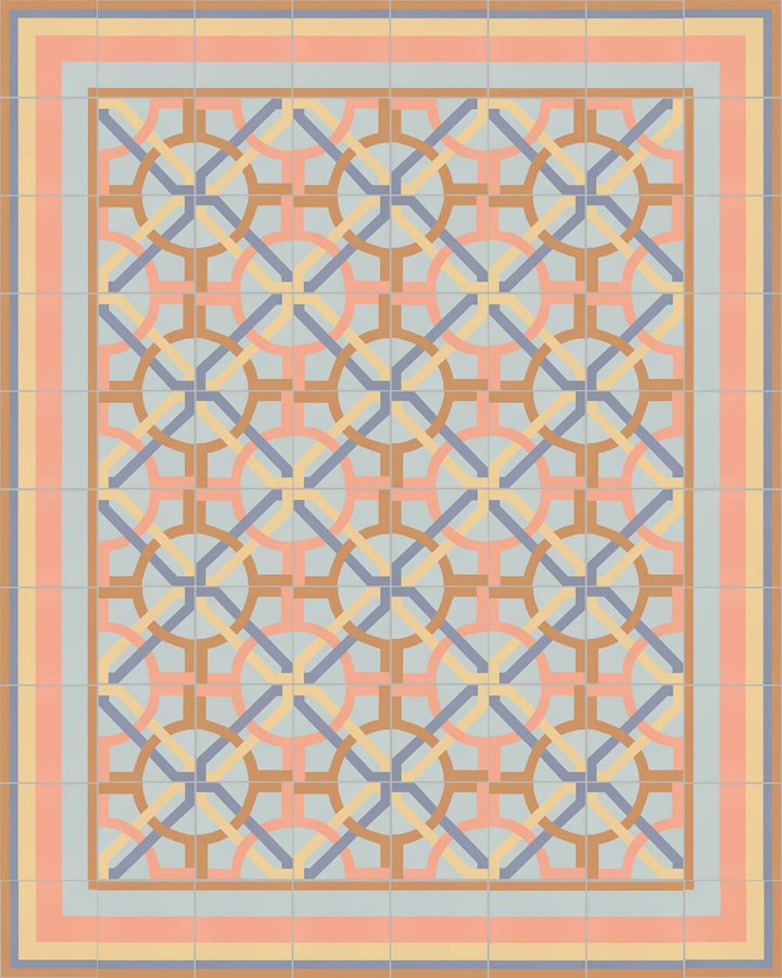 Floor tiles Floor Tiles multi-coloured Layouts and pattern SF 566 N