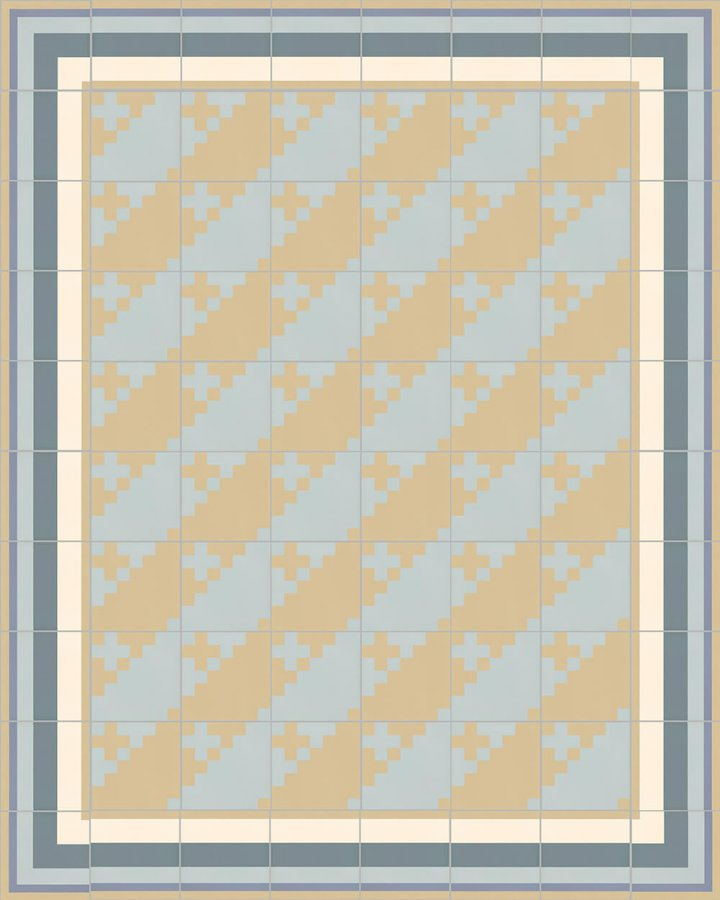 Floor tiles Floor Tiles multi-coloured Layouts and patterns SFTG 7201 O b