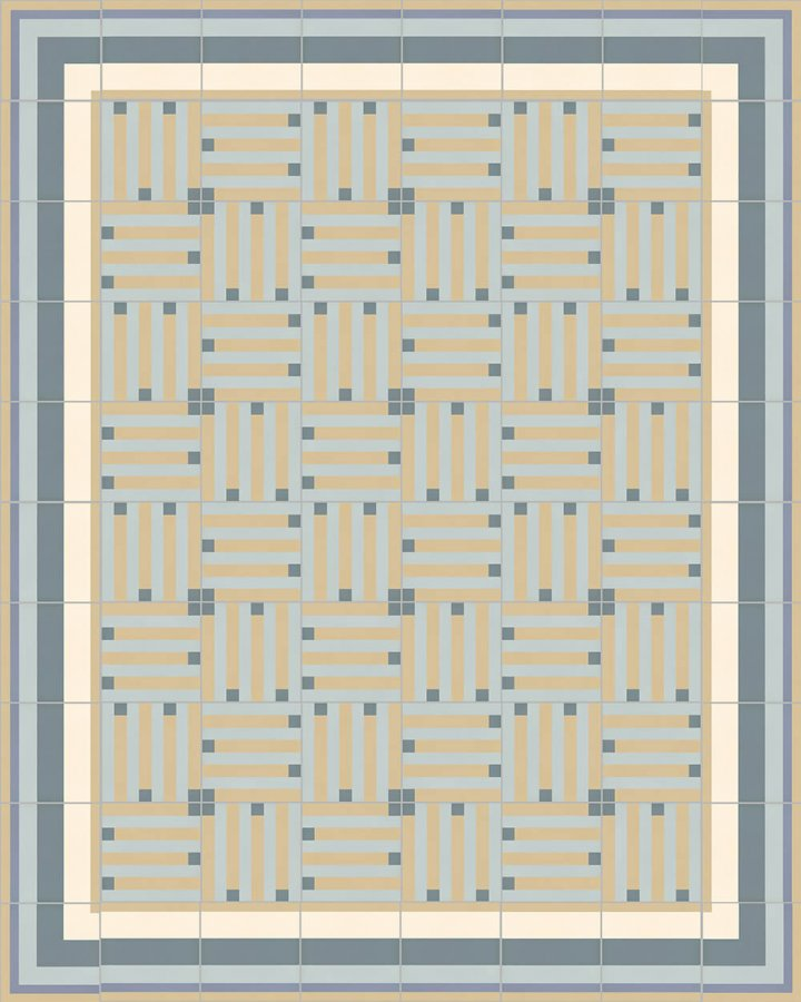 Floor tiles Floor Tiles multi-coloured Layouts and patterns SFTG 8301 O