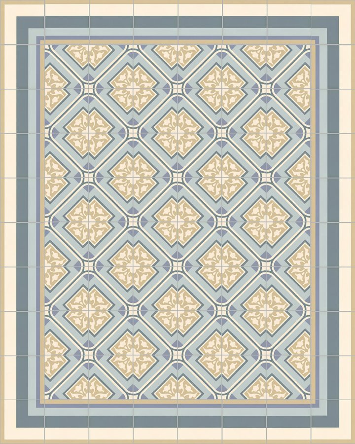Floor tiles Floor Tiles multi-coloured Layouts and patterns SFTG 11503 O e
