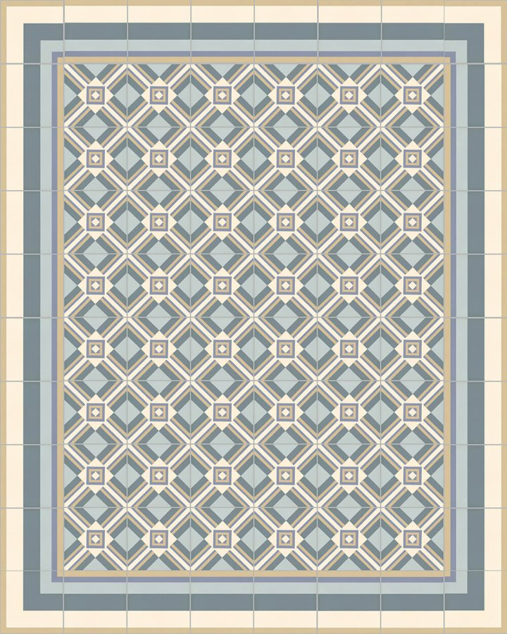 Floor tiles Floor Tiles multi-coloured Layouts and patterns SFTG 11503 O
