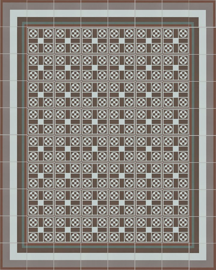Floor tiles Floor Tiles multi-coloured Layouts and patterns SF 257 R