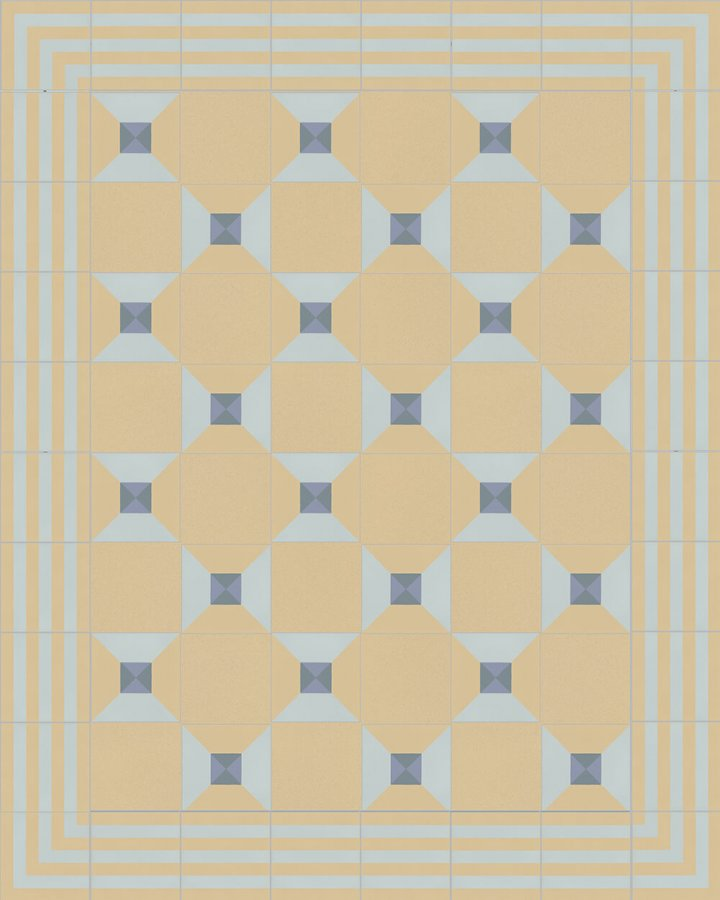 Floor tiles Floor Tiles multi-coloured Layouts and patterns SFTG 7202 O