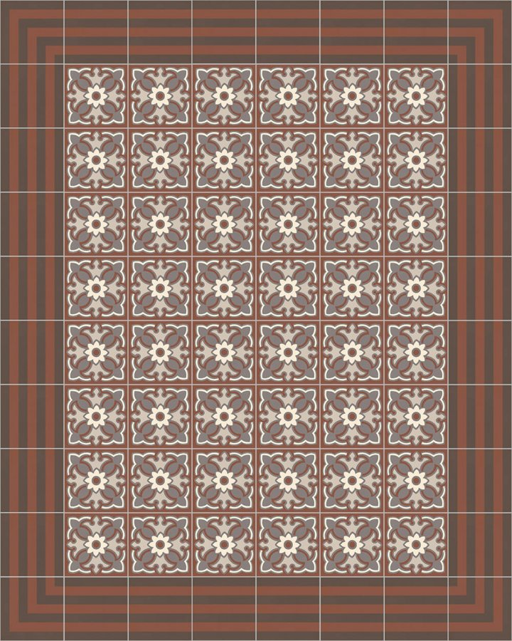 Floor tiles Floor Tiles multi-coloured Layouts and patterns SFTG 7202 F