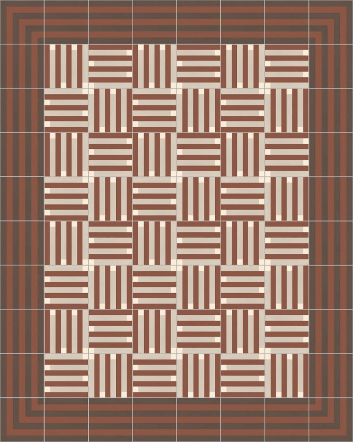 Floor tiles Floor Tiles multi-coloured Layouts and patterns SFTG 7202 F e