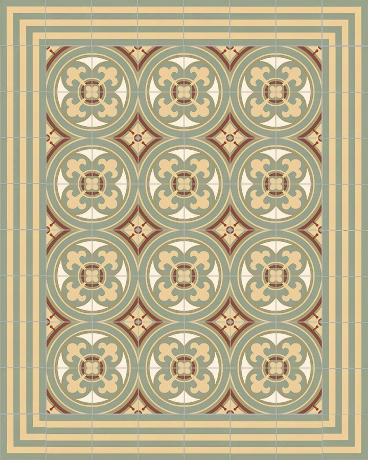 Floor tiles Floor Tiles multi-coloured Layouts and patterns SFTG 7202 I e