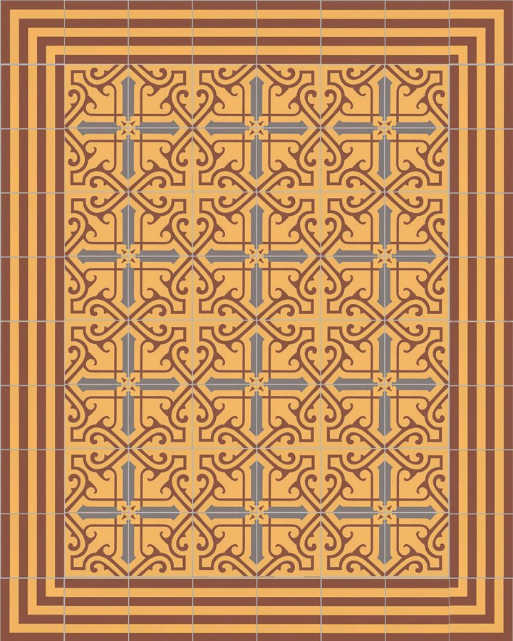 Floor tiles Floor Tiles multi-coloured Layouts and patterns SF 325 K