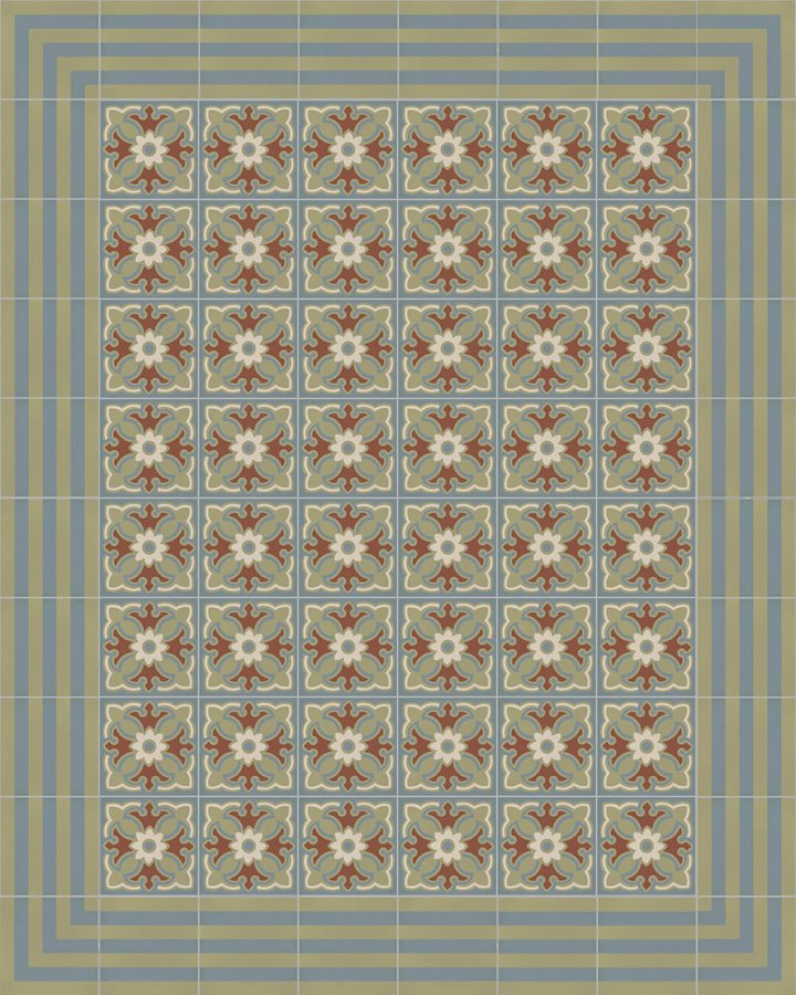 Floor tiles Floor Tiles multi-coloured Layouts and patterns SF 420 L