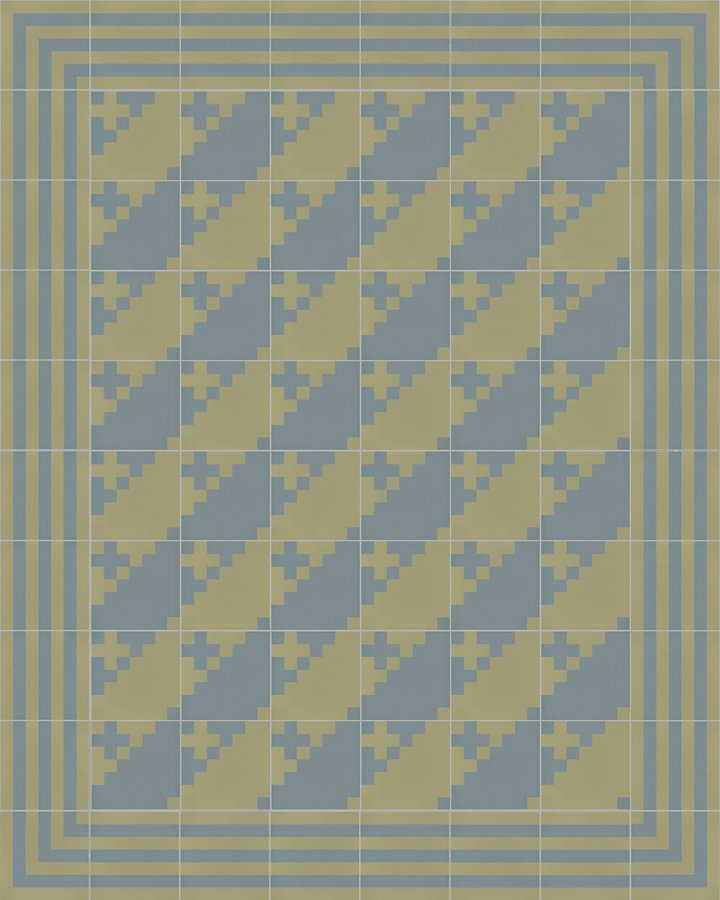 Floor tiles Floor Tiles multi-coloured Layouts and patterns SFTG 7201 L b