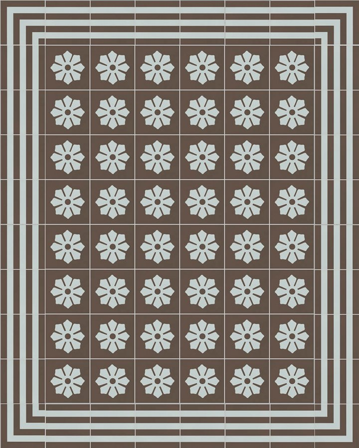 Floor tiles Floor Tiles multi-coloured Layouts and patterns SF 244 R