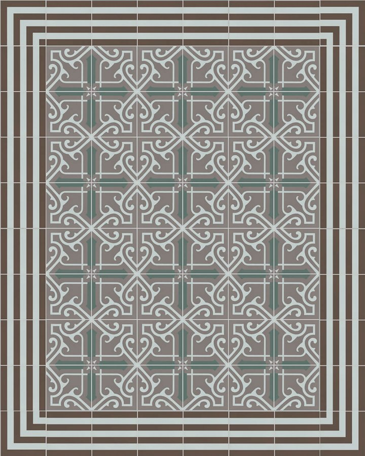 Floor tiles Floor Tiles multi-coloured Layouts and patterns SFTG 7202 R e