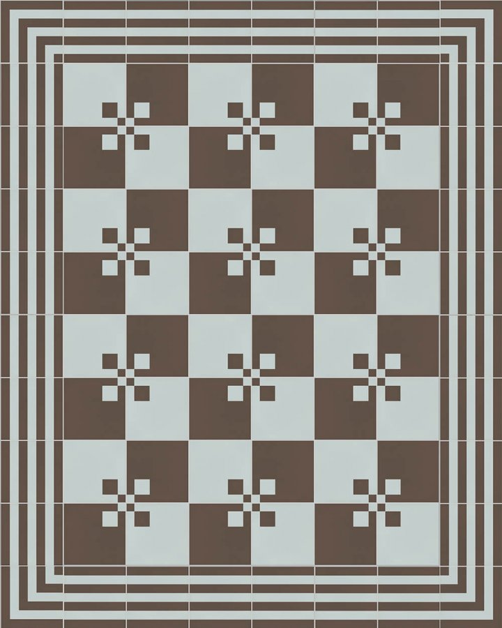 Floor tiles Floor Tiles multi-coloured Layouts and patterns SFTG 8207 R b