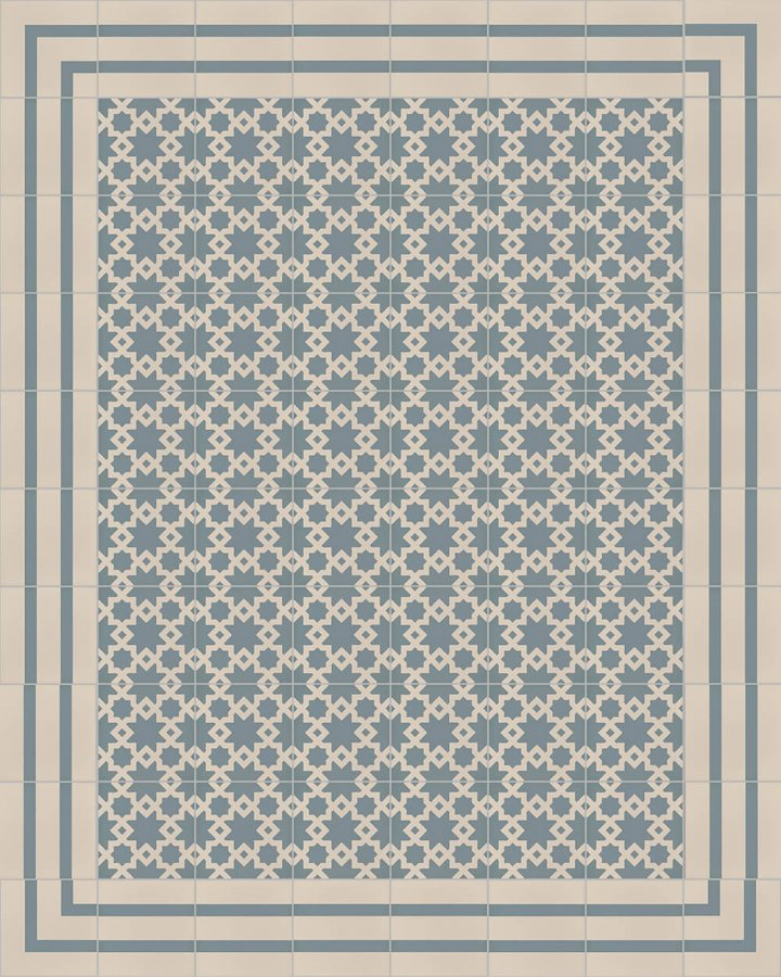 Floor tiles Floor Tiles multi-coloured Layouts and patterns SFTG 8202 A e