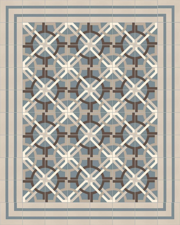 Floor tiles Floor Tiles multi-coloured Layouts and patterns SF 566 A