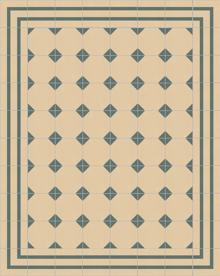 Floor tiles Floor Tiles multi-coloured Layouts and patterns SFTG 8202 B