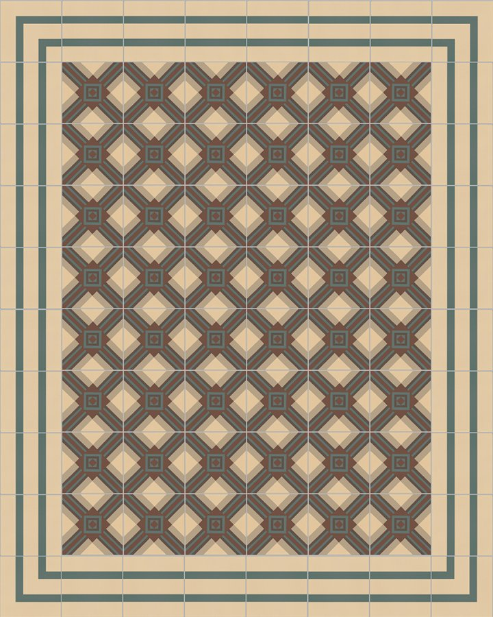 Floor tiles Floor Tiles multi-coloured Layouts and patterns SF 559 B