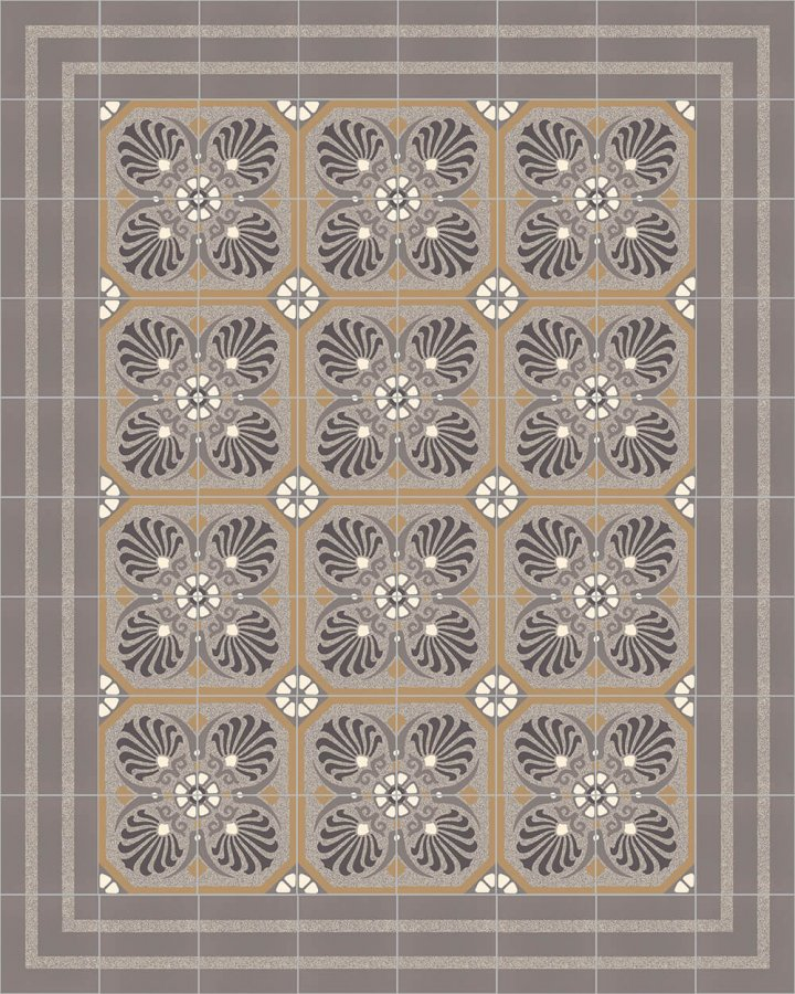 Floor tiles Floor Tiles multi-coloured Layouts and patterns SFTG 8202 C e