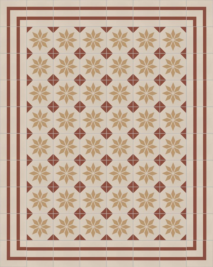 Floor tiles Floor Tiles multi-coloured Layouts and patterns SF 308 D