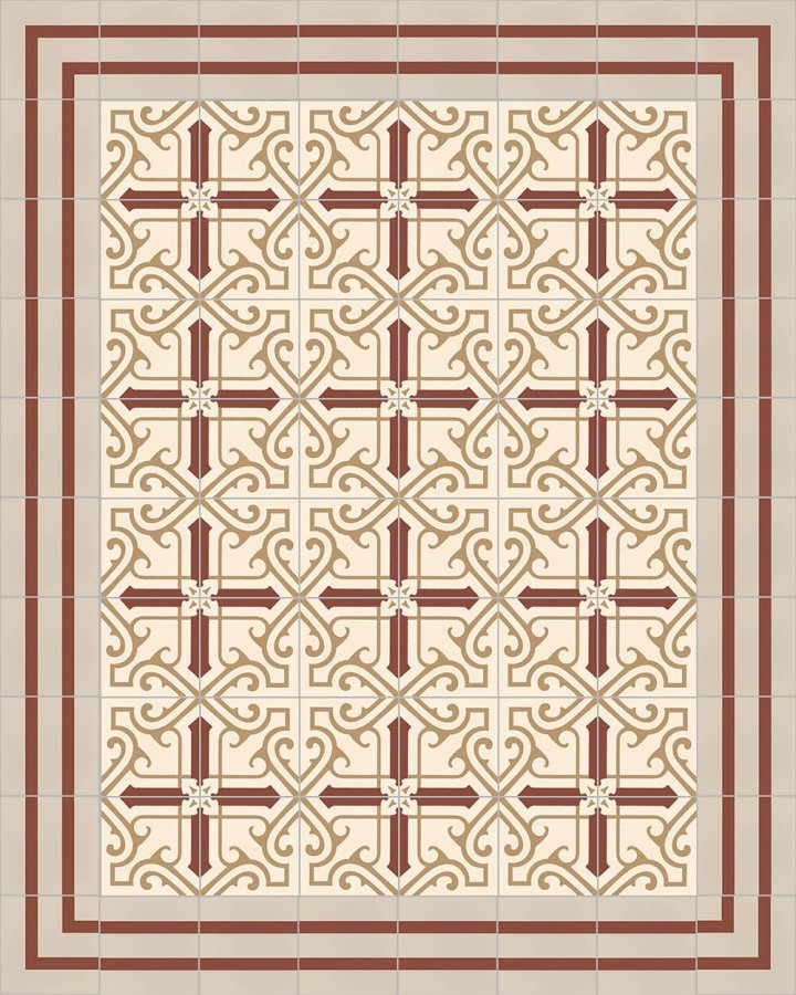 Floor tiles Floor Tiles multi-coloured Layouts and patterns SF 325 D