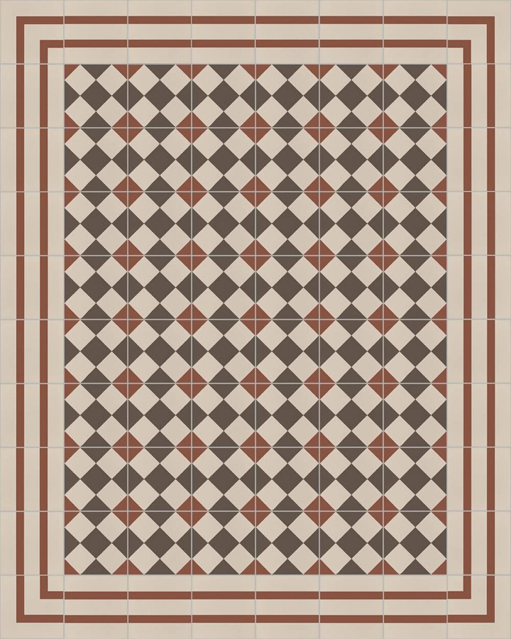 Floor tiles Floor Tiles multi-coloured Layouts and patterns SFTG 8202 F