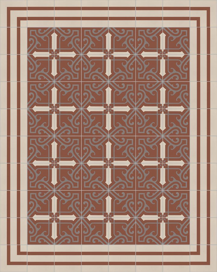 Floor tiles Floor Tiles multi-coloured Layouts and patterns SF 325 F