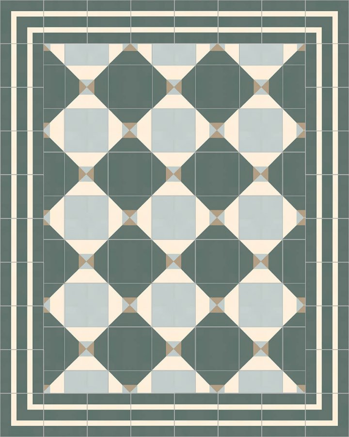 Floor tiles Floor Tiles multi-coloured Layouts and patterns SF 402 G