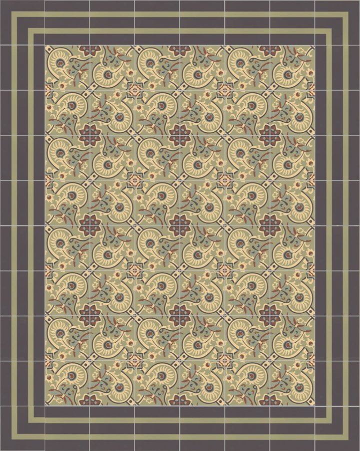 Floor tiles Floor Tiles multi-coloured Layouts and patterns SFTG 8202 J