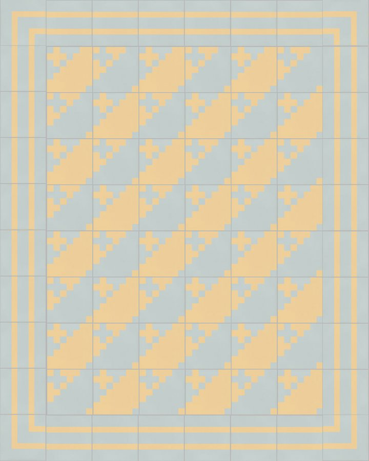 Floor tiles Floor Tiles multi-coloured Layouts and patterns SFTG 7201 N a