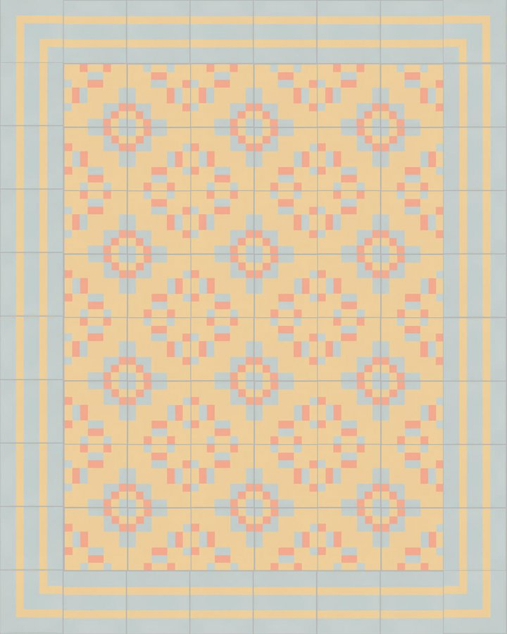Floor tiles Floor Tiles multi-coloured Layouts and patterns SFTG 8202 N