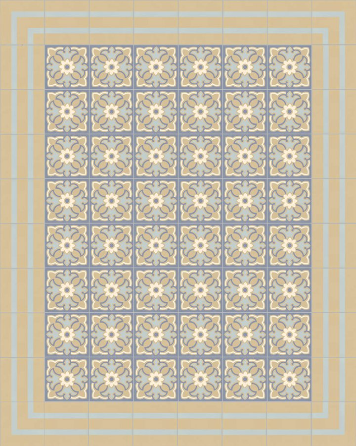 Floor tiles Floor Tiles multi-coloured Layouts and patterns SFTG 8202 O