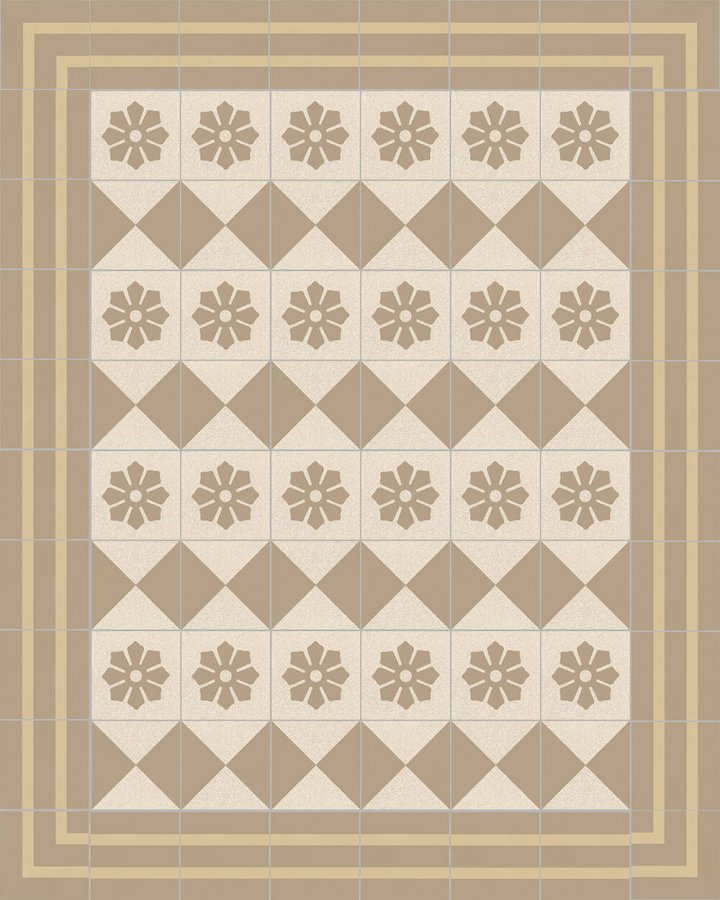Floor tiles Floor Tiles multi-coloured Layouts and patterns SFTG 8202 P