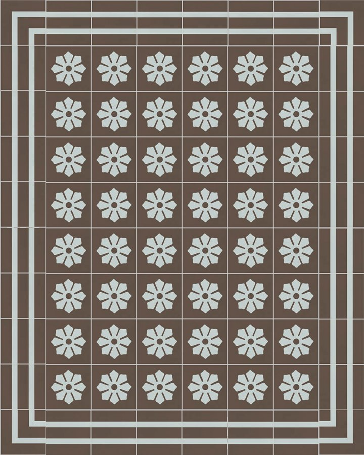 Floor tiles Floor Tiles multi-coloured Layouts and patterns SFTG 8202 R