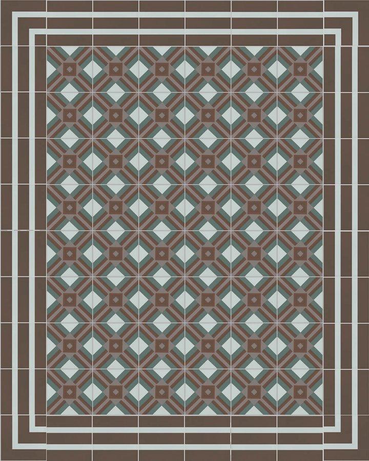 Floor tiles Floor Tiles multi-coloured Verlegebeispiel SF 559 E