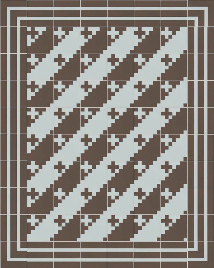 Floor tiles Floor Tiles multi-coloured Layouts and patterns SFTG 7201 R b