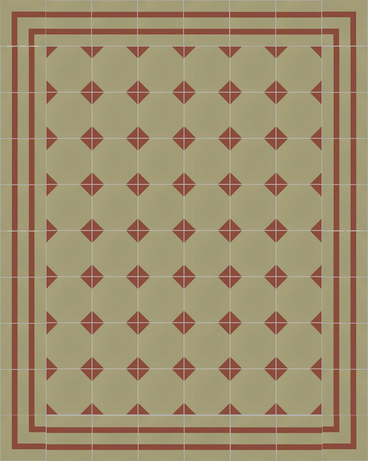 Floor tiles Floor Tiles multi-coloured Layouts and patterns SFTG 8202 I
