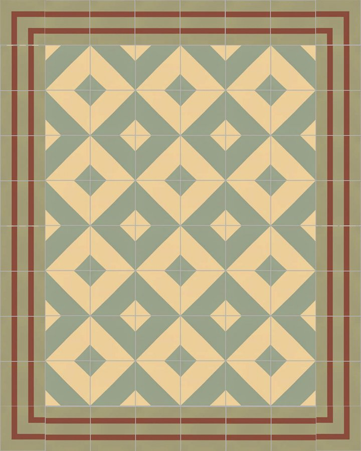 Floor tiles Floor Tiles multi-coloured Layouts and patterns SFTG 8202 I e