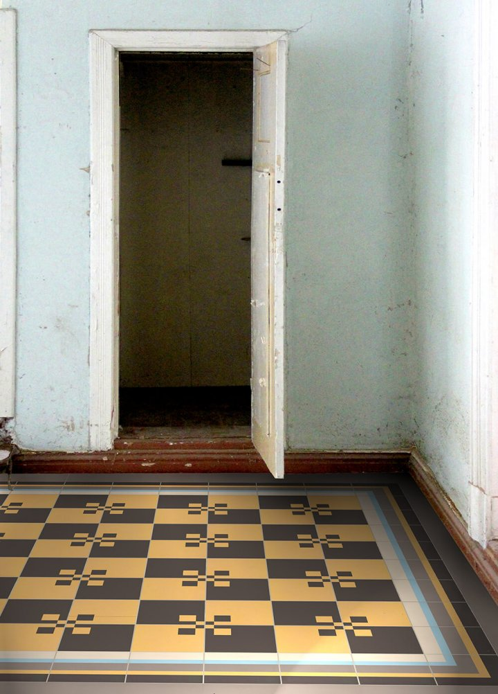 Floor tiles Floor Tiles multi-coloured Layouts and patterns SFTG 8505 H e