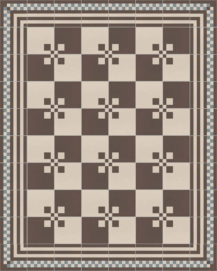 Floor tiles Floor Tiles multi-coloured Layouts and patterns SFTG 8207 A a