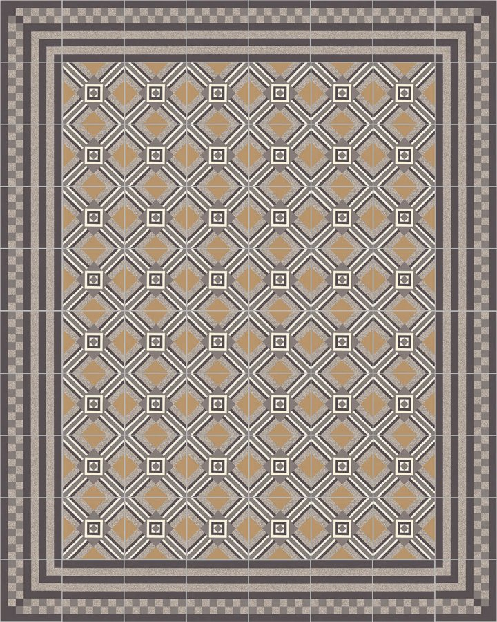 Floor tiles Floor Tiles multi-coloured Layouts and patterns SFTG 8303 C e