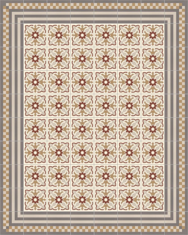 Floor tiles Floor Tiles multi-coloured Layouts and patterns SF 420 D