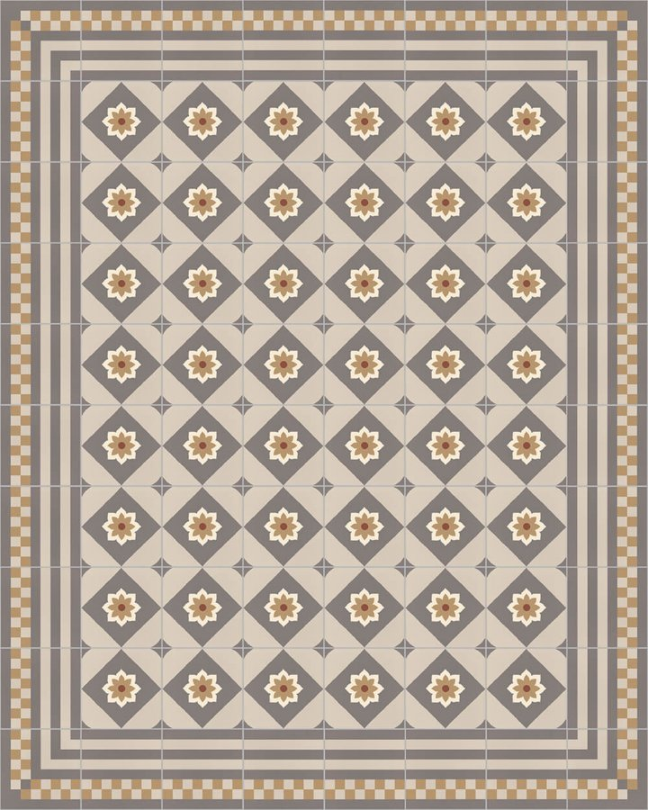 Floor tiles Floor Tiles multi-coloured Layouts and patterns SFTG 8303 D e