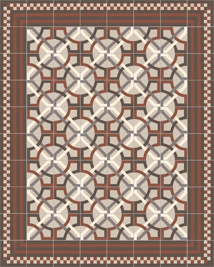 Floor tiles Floor Tiles multi-coloured Layouts and patterns SFTG 8303 F