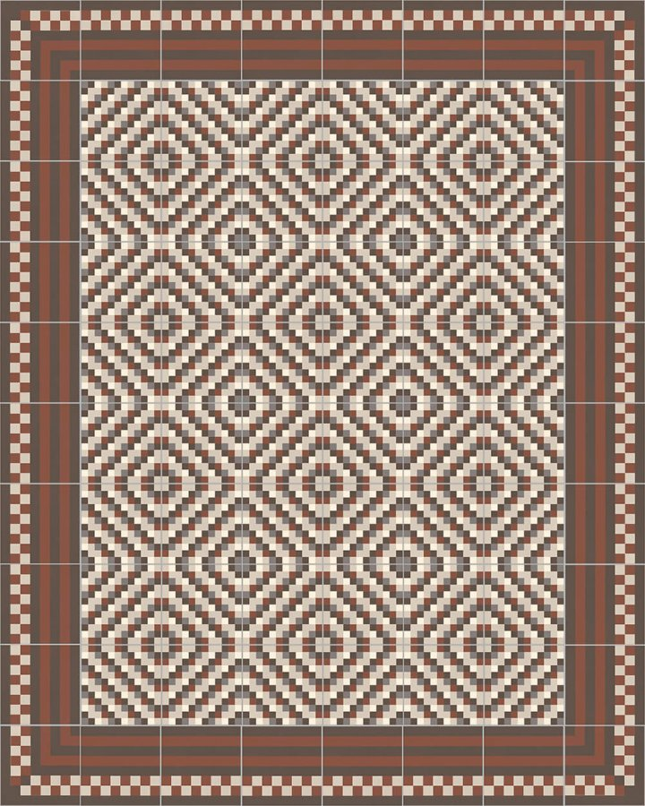Floor tiles Floor Tiles multi-coloured Layouts and patterns SFTG 8303 F e