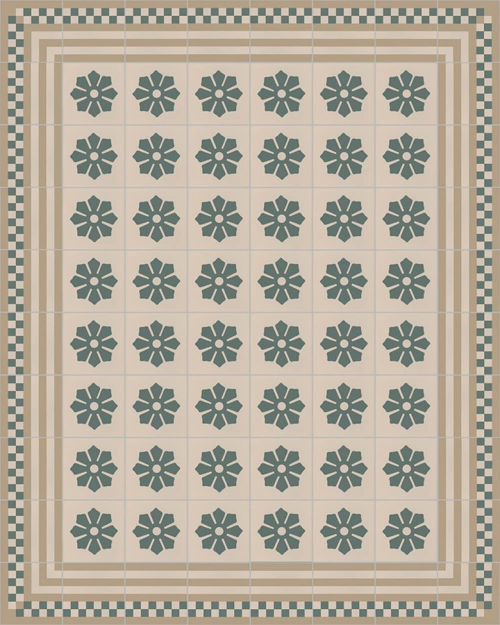 Floor tiles Floor Tiles multi-coloured Layouts and patterns SF 244 G