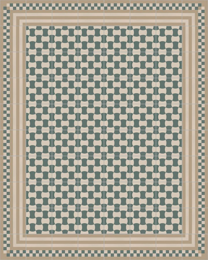 Floor tiles Floor Tiles multi-coloured Layouts and patterns SFTG 8303 G e