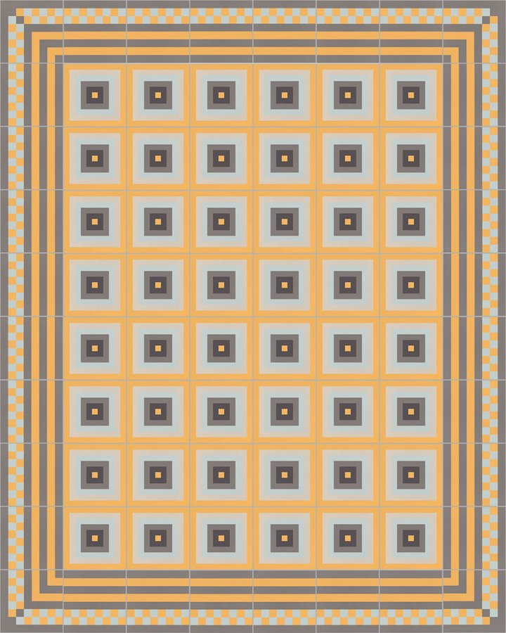 Floor tiles Floor Tiles multi-coloured Layouts and patterns SFTG 8303 H e