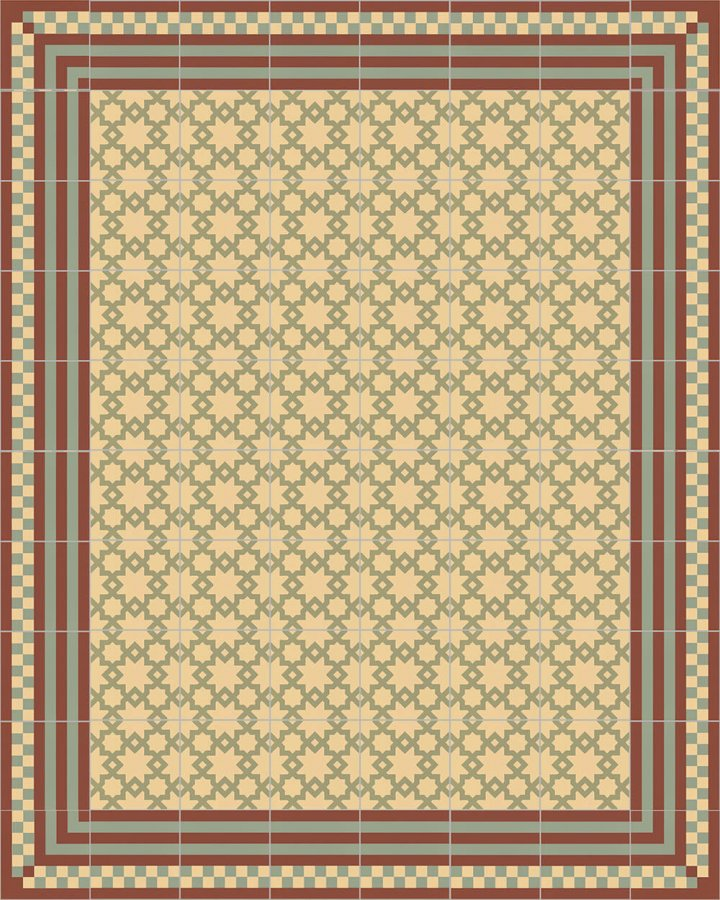 Floor tiles Floor Tiles multi-coloured Layouts and patterns SFTG 8303 I