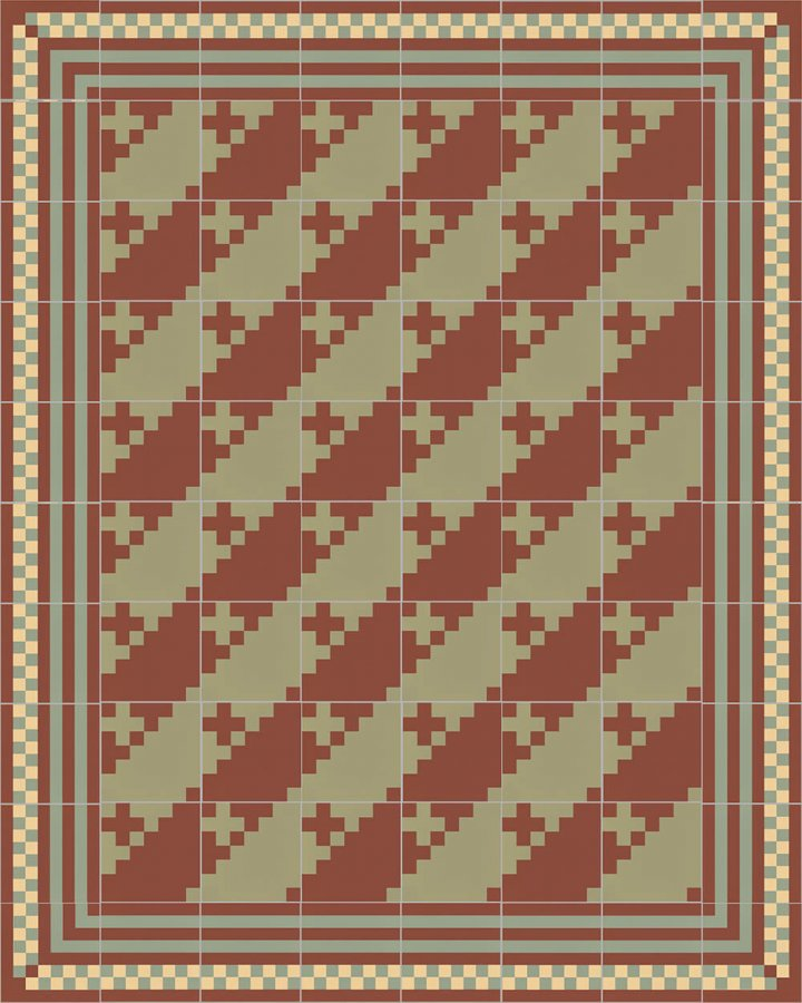 Floor tiles Floor Tiles multi-coloured Layouts and patterns SFTG 7201 I a