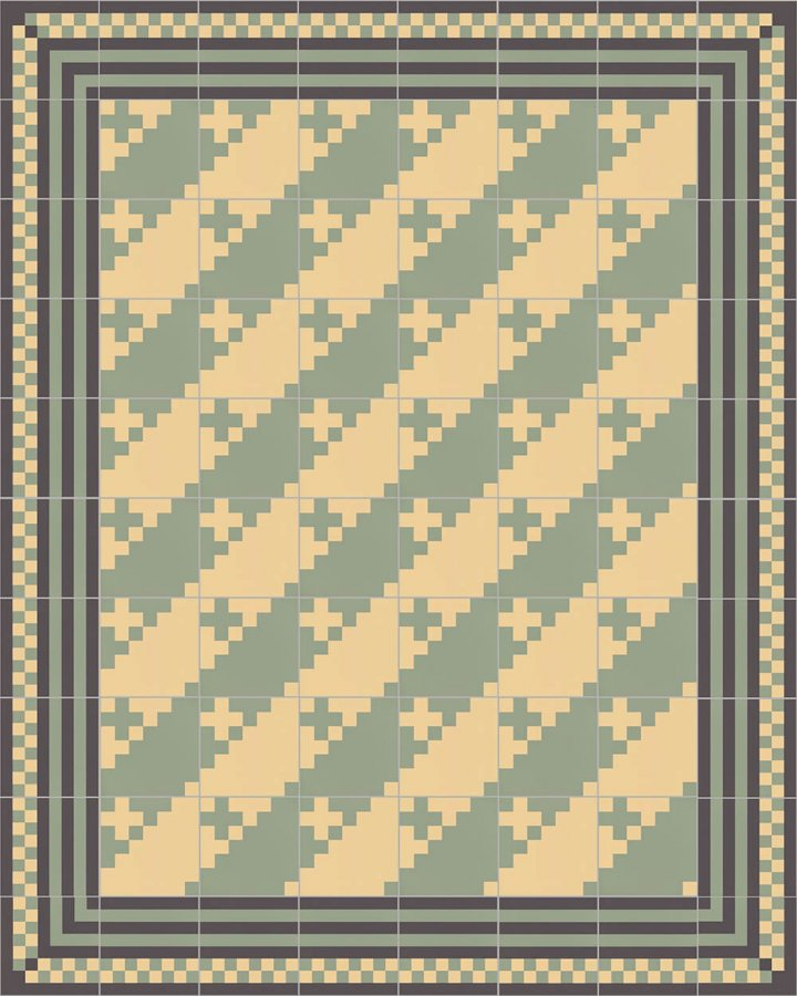 Floor tiles Floor Tiles multi-coloured Layouts and patterns SFTG 7201 J a
