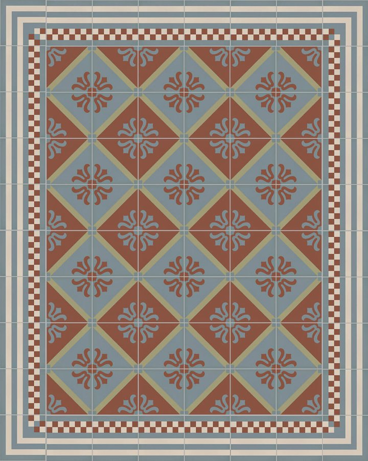 Floor tiles Floor Tiles multi-coloured Layouts and patterns SF 323 L